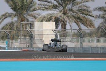 World © Octane Photographic Ltd. Mercedes AMG Petronas W07 Hybrid – Nico Rosberg. Friday 25th November 2016, F1 Abu Dhabi GP - Practice 1. Yas Marina circuit, Abu Dhabi. Digital Ref : 1756LB1D7835
