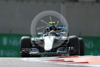 World © Octane Photographic Ltd. Mercedes AMG Petronas W07 Hybrid – Nico Rosberg. Friday 25th November 2016, F1 Abu Dhabi GP - Practice 1. Yas Marina circuit, Abu Dhabi. Digital Ref : 1756LB1D8103