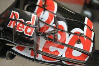 World © Octane Photographic Ltd. Scuderia Toro Rosso STR11 – Front Wing. Friday 25th November 2016, F1 Abu Dhabi GP - Practice 1, Yas Marina circuit, Abu Dhabi. Digital Ref :