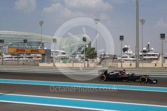 World © Octane Photographic Ltd. McLaren Honda MP4-31 – Fernando Alonso. Friday 25th November 2016, F1 Abu Dhabi GP - Practice 1, Yas Marina circuit, Abu Dhabi. Digital Ref : 1756LB2D7057