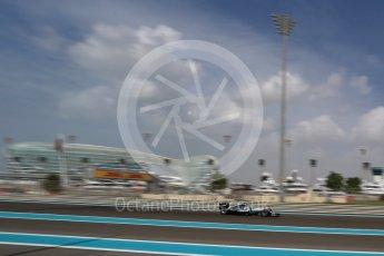 World © Octane Photographic Ltd. Mercedes AMG Petronas W07 Hybrid – Lewis Hamilton. Friday 25th November 2016, F1 Abu Dhabi GP - Practice 1. Yas Marina circuit, Abu Dhabi. Digital Ref : 1756LB2D7290