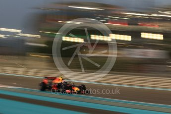 World © Octane Photographic Ltd. Red Bull Racing RB12 – Max Verstappen. Friday 25th November 2016, F1 Abu Dhabi GP - Practice 2, Yas Marina circuit, Abu Dhabi. Digital Ref :