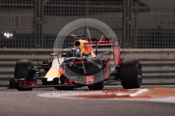 World © Octane Photographic Ltd. Red Bull Racing RB12 – Daniel Ricciardo. Friday 25th November 2016, F1 Abu Dhabi GP - Practice 2, Yas Marina circuit, Abu Dhabi. Digital Ref :