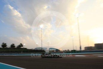 World © Octane Photographic Ltd. Sahara Force India VJM09 - Nico Hulkenberg. Friday 25th November 2016, F1 Abu Dhabi GP - Practice 2, Yas Marina circuit, Abu Dhabi. Digital Ref :