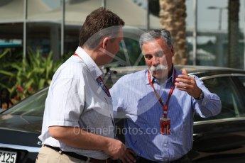 World © Octane Photographic Ltd. Chase Carey - Vice Chairman of the 21st Century Fox media conglomerate and the Chairman of the Formula One Group/Liberty Media. Saturday 26th November 2016, F1 Abu Dhabi GP - Paddock, Yas Marina circuit, Abu Dhabi. Digital Ref : 1764LB1D9515