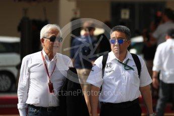 World © Octane Photographic Ltd. McLaren Honda. Saturday 26th November 2016, F1 Abu Dhabi GP - Paddock, Yas Marina circuit, Abu Dhabi. Digital Ref : 1764LB1D9819
