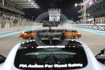 World © Octane Photographic Ltd. Saturday 26th November 2016, F1 Abu Dhabi GP2 Race - Grid, Yas Marina circuit, Abu Dhabi. Mercedes AMG GTs Safety Car on the grid. Digital Ref :