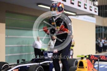 World © Octane Photographic Ltd. Prema Racing - GP2/11 – Pierre Gasly. Saturday 26th November 2016, GP2 Race 1, Yas Marina Circuit, Abu Dhabi. Digital Ref :