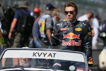 World © Octane Photographic Ltd. Red Bull Racing - Daniil Kvyat. Sunday 20th March 2016, F1 Australian GP - Drivers Parade, Melbourne, Albert Park, Australia. Digital Ref : 1523LB1D6424