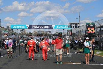 World © Octane Photographic Ltd. Sunday 20th March 2016, F1 Australian GP - Grid, Melbourne, Albert Park, Australia. Digital Ref : 1523LB1D6635
