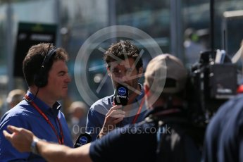 World © Octane Photographic Ltd. Mark Webber. Sunday 20th March 2016, F1 Australian GP - Grid, Melbourne, Albert Park, Australia. Digital Ref : 1523LB1D6656