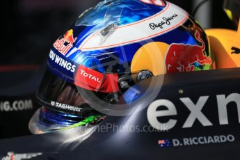 World © Octane Photographic Ltd. Red Bull Racing – Daniel Ricciardo. Sunday 20th March 2016, F1 Australian GP - Grid, Melbourne, Albert Park, Australia. Digital Ref : 1523LB1D6667
