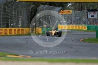 World © Octane Photographic Ltd. Renault Sport F1 Team RS16 – Jolyon Palmer. Friday 18th March 2016, F1 Australian GP Practice 1, Melbourne, Albert Park, Australia. Digital Ref : 1516LB1D1980