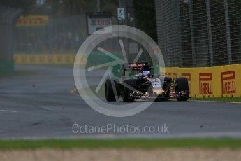 World © Octane Photographic Ltd. Scuderia Toro Rosso STR11 – Max Verstappen Friday 18th March 2016, F1 Australian GP Practice 1, Melbourne, Albert Park, Australia. Digital Ref : 1516LB1D2592