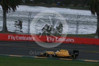 World © Octane Photographic Ltd. Renault Sport F1 Team RS16 - Kevin Magnussen. Friday 18th March 2016, F1 Australian GP Practice 1, Melbourne, Albert Park, Australia. Digital Ref : 1516LB1D2754