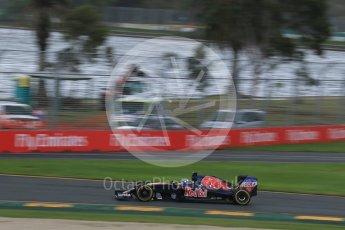 World © Octane Photographic Ltd. Scuderia Toro Rosso STR11 – Max Verstappen Friday 18th March 2016, F1 Australian GP Practice 1, Melbourne, Albert Park, Australia. Digital Ref : 1516LB1D2783