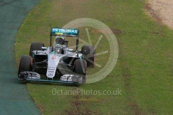 World © Octane Photographic Ltd. Mercedes AMG Petronas W07 Hybrid – Nico Rosberg. Saturday 19th March 2016, F1 Australian GP Qualifying, Melbourne, Albert Park, Australia. Digital Ref : 1521LB1D5160