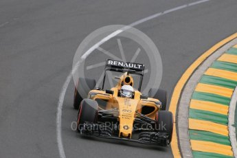 World © Octane Photographic Ltd. Renault Sport F1 Team RS16 - Kevin Magnussen. Saturday 19th March 2016, F1 Australian GP Qualifying, Melbourne, Albert Park, Australia. Digital Ref : 1521LB1D5406