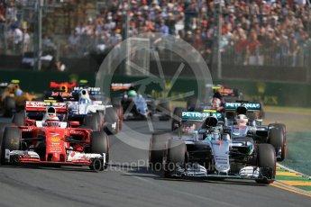 World © Octane Photographic Ltd. Mercedes AMG Petronas W07 Hybrid– Nico Rosberg. Sunday 20th March 2016, F1 Australian GP Race, Melbourne, Albert Park, Australia. Digital Ref : 1524LB1D6947