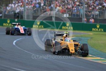 World © Octane Photographic Ltd. Renault Sport F1 Team RS16 – Jolyon Palmer. Sunday 20th March 2016, F1 Australian GP Race, Melbourne, Albert Park, Australia. Digital Ref : 1524LB1D7178