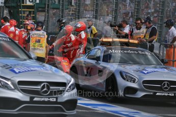 World © Octane Photographic Ltd. Scuderia Ferrari SF16-H – Sebastian Vettel. Sunday 20th March 2016, F1 Australian GP Race, Melbourne, Albert Park, Australia. Digital Ref : 1524LB1D7295