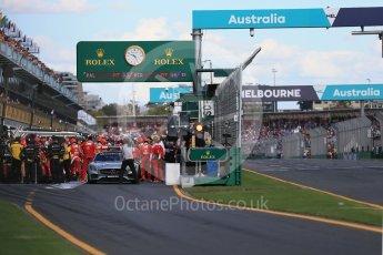 World © Octane Photographic Ltd. Scuderia Ferrari SF16-H – Sebastian Vettel. Sunday 20th March 2016, F1 Australian GP Race, Melbourne, Albert Park, Australia. Digital Ref : 1524LB1D7305