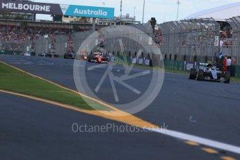 World © Octane Photographic Ltd. Mercedes AMG Petronas W07 Hybrid– Nico Rosberg. Sunday 20th March 2016, F1 Australian GP Race, Melbourne, Albert Park, Australia. Digital Ref : 1524LB1D7347