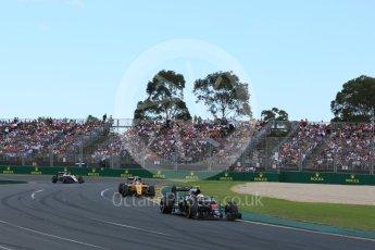 World © Octane Photographic Ltd. McLaren Honda MP4-31 – Jenson Button. Sunday 20th March 2016, F1 Australian GP Race, Melbourne, Albert Park, Australia. Digital Ref : 1524LB5D2171