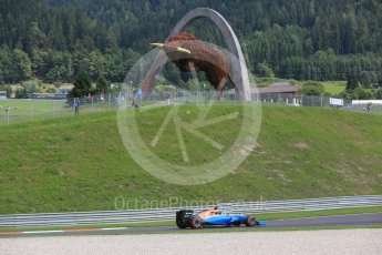 World © Octane Photographic Ltd. Manor Racing MRT05 - Pascal Wehrlein. Friday 1st July 2016, F1 Austrian GP Practice 1, Red Bull Ring, Spielberg, Austria. Digital Ref : 1598CB5D2641