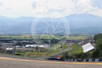 World © Octane Photographic Ltd. Manor Racing MRT05 - Pascal Wehrlein. Friday 1st July 2016, F1 Austrian GP Practice 1, Red Bull Ring, Spielberg, Austria. Digital Ref : 1598LB1D5020