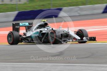 World © Octane Photographic Ltd. Mercedes AMG Petronas W07 Hybrid – Nico Rosberg. Friday 1st July 2016, F1 Austrian GP Practice 2, Red Bull Ring, Spielberg, Austria. Digital Ref : 1600CB1D2369
