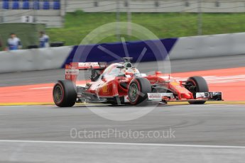 World © Octane Photographic Ltd. Scuderia Ferrari SF16-H – Sebastian Vettel. Friday 1st July 2016, F1 Austrian GP Practice 2, Red Bull Ring, Spielberg, Austria. Digital Ref : 1600CB1D2380