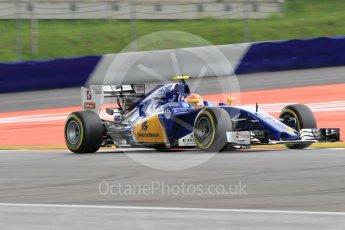 World © Octane Photographic Ltd. Sauber F1 Team C35 – Felipe Nasr. Friday 1st July 2016, F1 Austrian GP Practice 2, Red Bull Ring, Spielberg, Austria. Digital Ref : 1600CB1D2390