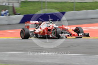 World © Octane Photographic Ltd. Scuderia Ferrari SF16-H – Sebastian Vettel. Friday 1st July 2016, F1 Austrian GP Practice 2, Red Bull Ring, Spielberg, Austria. Digital Ref : 1600CB1D2480