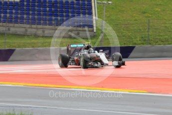 World © Octane Photographic Ltd. Mercedes AMG Petronas W07 Hybrid – Nico Rosberg. Friday 1st July 2016, F1 Austrian GP Practice 2, Red Bull Ring, Spielberg, Austria. Digital Ref : 1600CB1D2598