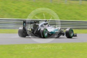 World © Octane Photographic Ltd. Mercedes AMG Petronas W07 Hybrid – Nico Rosberg. Friday 1st July 2016, F1 Austrian GP Practice 2, Red Bull Ring, Spielberg, Austria. Digital Ref : 1600CB1D2602