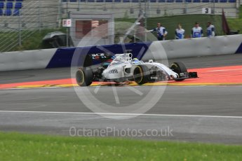 World © Octane Photographic Ltd. Williams Martini Racing, Williams Mercedes FW38 – Felipe Massa. Friday 1st July 2016, F1 Austrian GP Practice 2, Red Bull Ring, Spielberg, Austria. Digital Ref : 1600CB5D3110