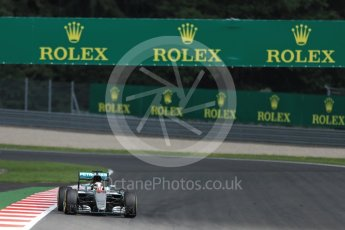 World © Octane Photographic Ltd. Mercedes AMG Petronas W07 Hybrid – Lewis Hamilton. Friday 1st July 2016, F1 Austrian GP Practice 2, Red Bull Ring, Spielberg, Austria. Digital Ref : 1600LB1D6290