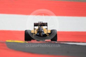 World © Octane Photographic Ltd. Renault Sport F1 Team RS16 - Kevin Magnussen. Saturday 2nd July 2016, F1 Austrian GP Qualifying, Red Bull Ring, Spielberg, Austria. Digital Ref :