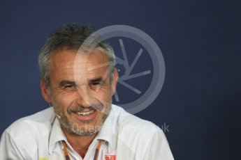 World © Octane Photographic Ltd. F1 Austrian GP FIA Personnel Press Conference, Red Bull Ring, Spielberg, Austria. Friday 1st July 2016. Beat Zehnder – Sauber F1 Team, Team Manager. Digital Ref :1602LB1D6838