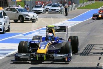 World © Octane Photographic Ltd. DAMS - GP2/11 – Nicholas Latifi. Friday 1st July 2016, GP2 Practice, Red Bull Ring, Spielberg, Austria. Digital Ref : 1599CB5D2910
