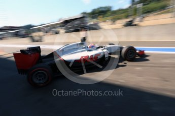 World © Octane Photographic Ltd. Haas F1 Team VF-16 – Romain Grosjean. Saturday 27th August 2016, F1 Belgian GP Practice 3, Spa-Francorchamps, Belgium. Digital Ref : 1687LB2D4091