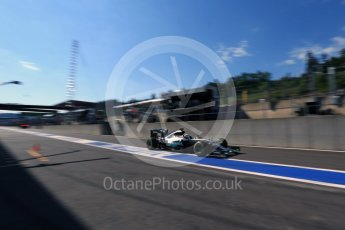World © Octane Photographic Ltd. Mercedes AMG Petronas W07 Hybrid – Lewis Hamilton. Saturday 27th August 2016, F1 Belgian GP Practice 3, Spa-Francorchamps, Belgium. Digital Ref : 1687LB2D4121