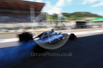 World © Octane Photographic Ltd. Williams Martini Racing, Williams Mercedes FW38 – Valtteri Bottas. Saturday 27th August 2016, F1 Belgian GP Practice 3, Spa-Francorchamps, Belgium. Digital Ref : 1687LB2D4164