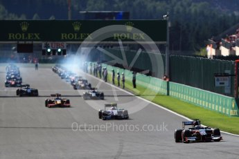 World © Octane Photographic Ltd. Rapax - GP2/11 – Gustav Malja. Sunday 28th August 2016, GP2 Race 2, Spa-Francorchamps, Belgium. Digital Ref : 1690LB1D1597 1690LB1D1597
