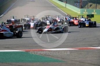 World © Octane Photographic Ltd. ART Grand Prix – GP3/16 – Alexander Albon. Sunday 28th August 2016, GP3 Race 2, Spa-Francorchamps, Belgium. Digital Ref : 1689LB1D1150