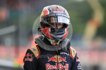 World © Octane Photographic Ltd. Red Bull Racing RB12 – Max Verstappen. Saturday 9th July 2016, F1 British GP Practice 3, Silverstone, UK. Digital Ref : 1625LB1D3536