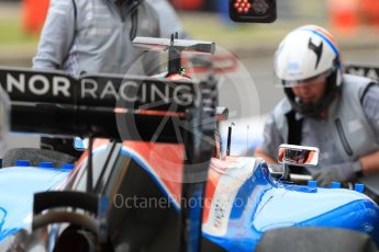 World © Octane Photographic Ltd. Manor Racing MRT05 - Pascal Wehrlein. Saturday 9th July 2016, F1 British GP Practice 3, Silverstone, UK. Digital Ref : 1625LB1D3600