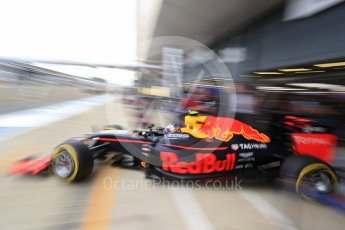 World © Octane Photographic Ltd. Red Bull Racing RB12 – Max Verstappen. Saturday 9th July 2016, F1 British GP Practice 3, Silverstone, UK. Digital Ref : 1625LB1D8349