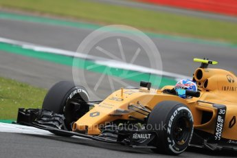 World © Octane Photographic Ltd. Renault Sport F1 Team RS16 – Jolyon Palmer. Friday 8th July 2016, F1 British GP Practice 1, Silverstone, UK. Digital Ref : 1619LB1D1281